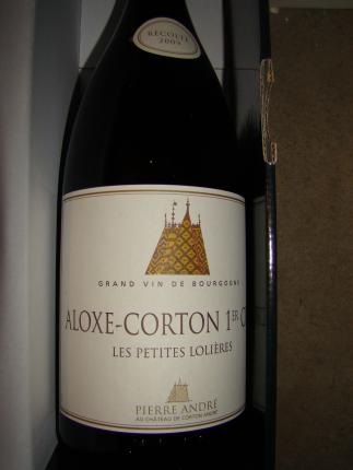 Aloxe-Corton Premier Cru Les Petites Lolières