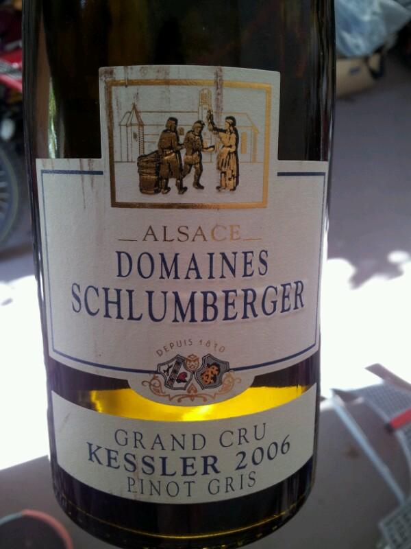 Alsace Grand Cru Kessler