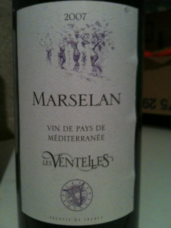 Vin de pays de méditerranée