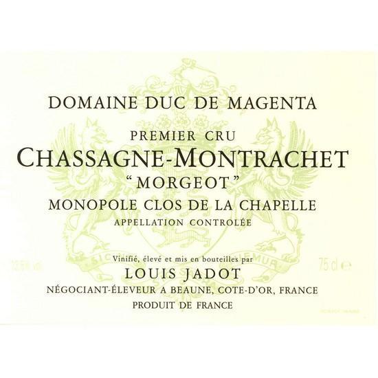 Chassagne-montrachet Premier Cru Abbaye de Morgeot
