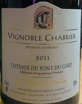 Vin de pays des Coteaux du Pont du Gard