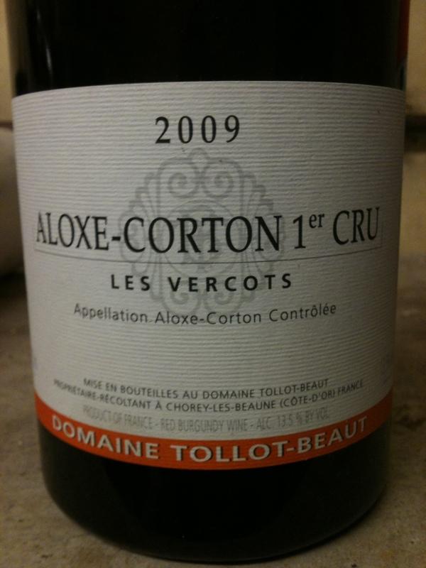 Aloxe-Corton Premier Cru Les Vercots