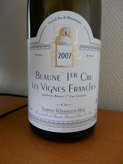 Beaune Premier Cru Les vignes Franches