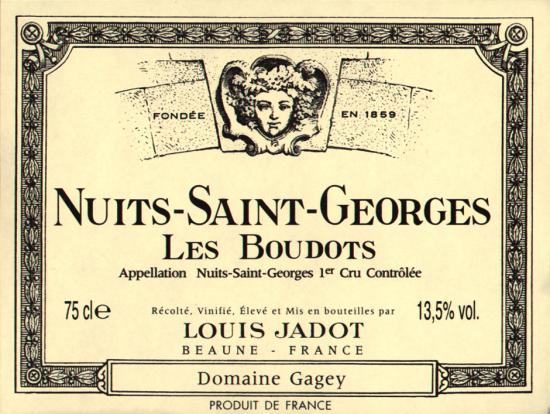 Nuits-Saint-Georges Premier Cru