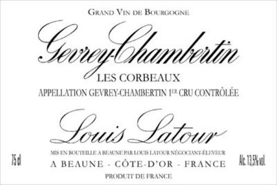 Gevrey-chambertin Premier Cru Les Corbeaux