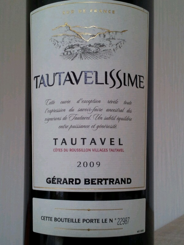 Côtes du Roussillon villages Tautavel