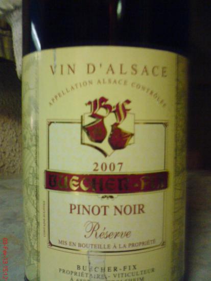 Alsace Pinot Noir