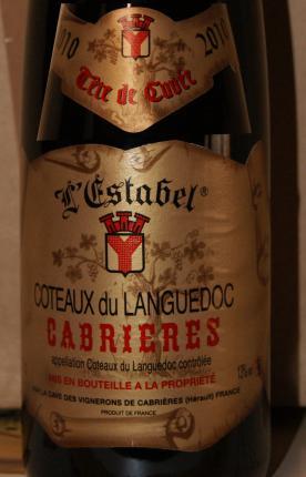 Coteaux du Languedoc Cabrières