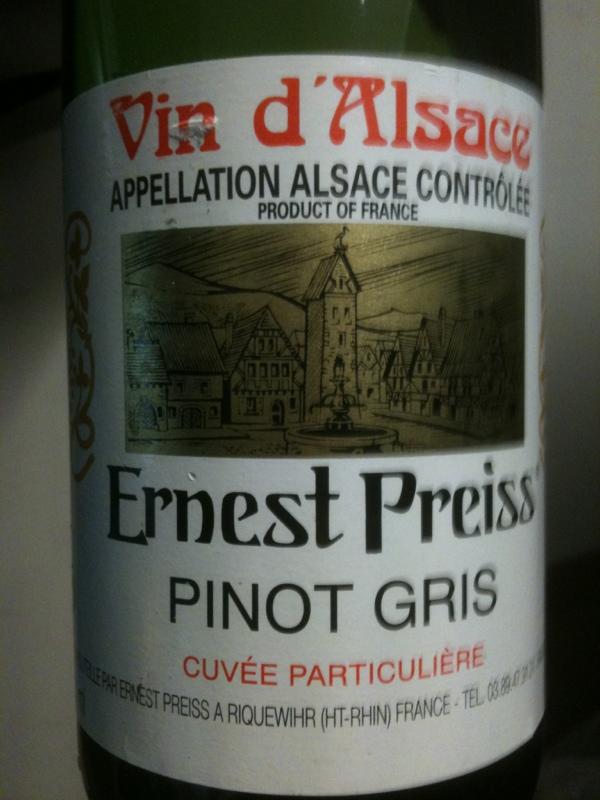 Alsace Tokay-Pinot Gris
