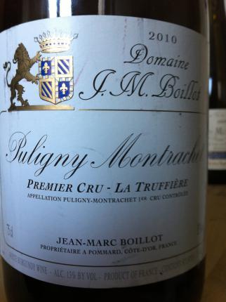 Puligny-Montrachet Premier Cru  La Truffière