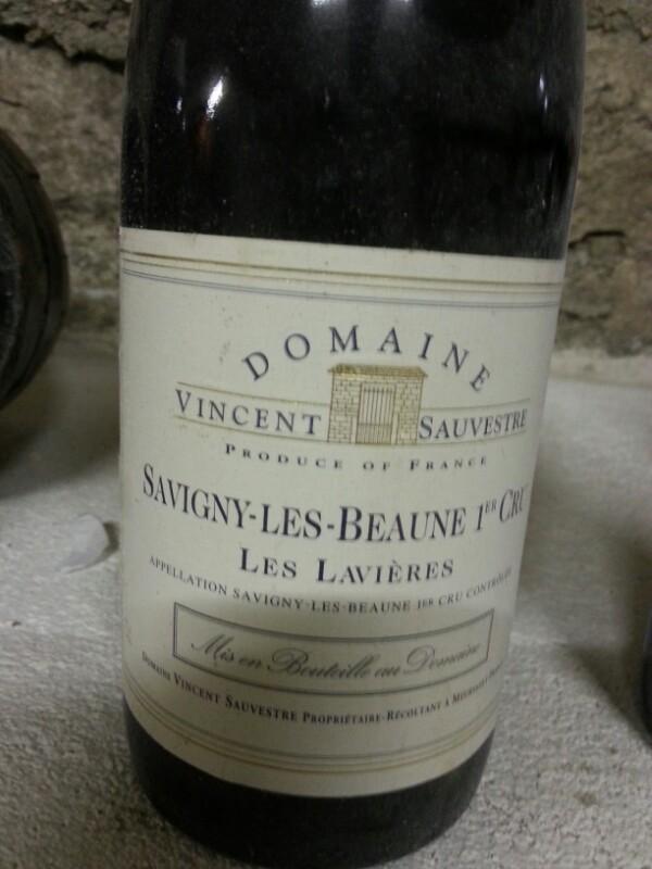 Savigny-lès-Beaune Premier Cru  Les Lavières