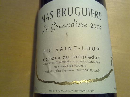Coteaux du Languedoc Pic-Saint-Loup