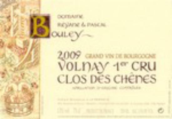 Volnay Premier Cru  Clos des Chênes