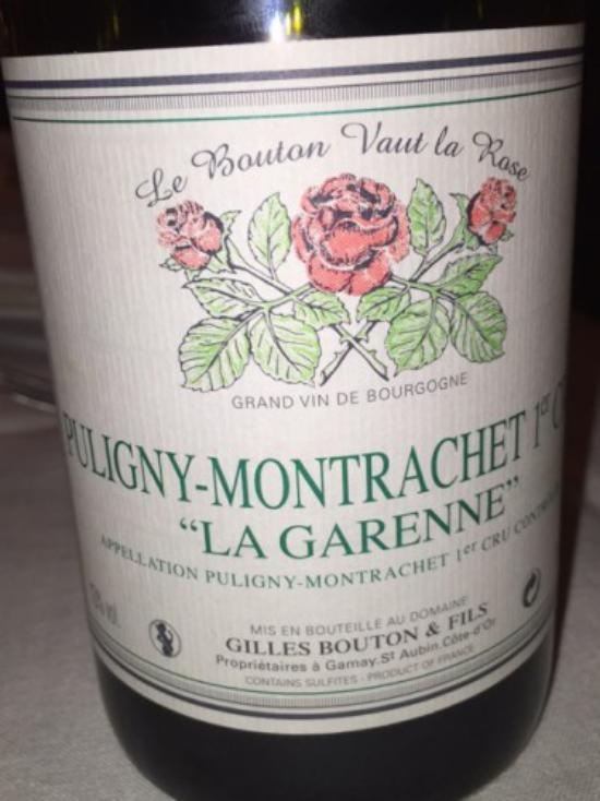 Puligny-Montrachet Premier Cru  La Garenne