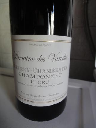 Gevrey-chambertin Premier Cru Champonnet
