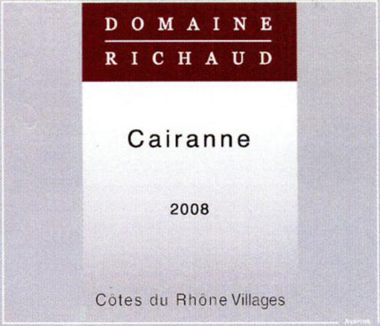 Côtes-du-Rhône-Villages Cairanne