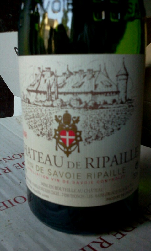 Vin-de-Savoie Ripaille