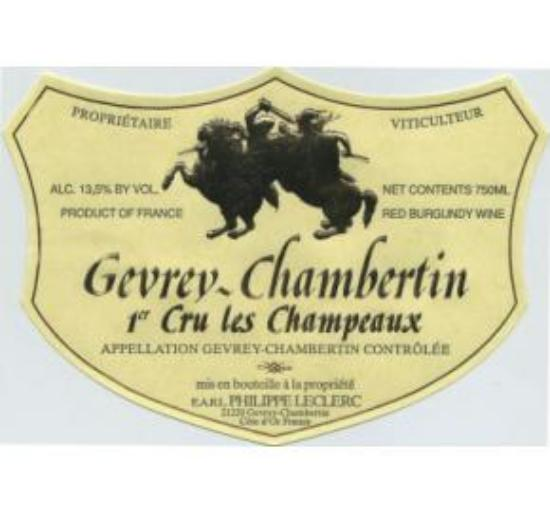 Gevrey-chambertin Premier Cru Champeaux