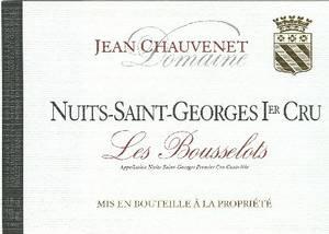 Nuits-Saint-Georges Premier Cru  Aux Bousselots