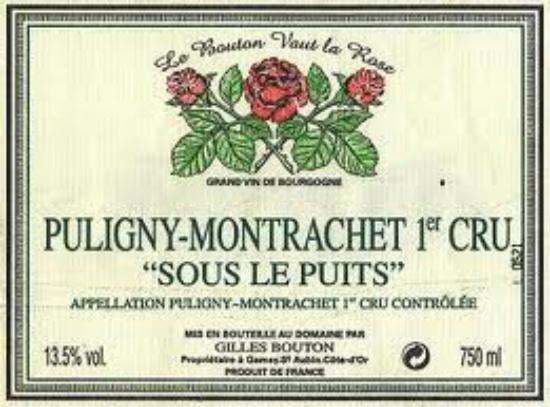 Puligny-Montrachet Premier Cru  Sous le Puits