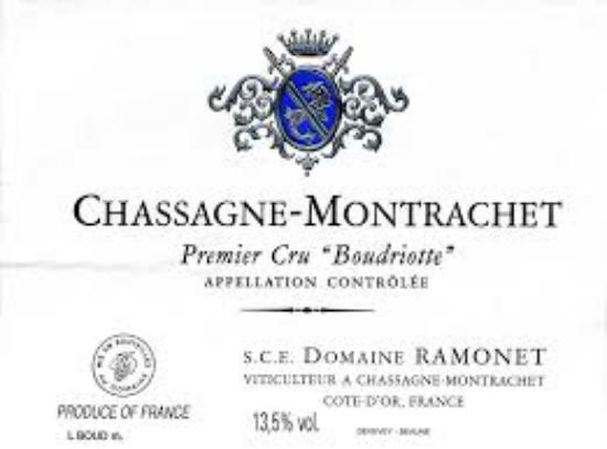 Chassagne-montrachet Premier Cru Boudriotte