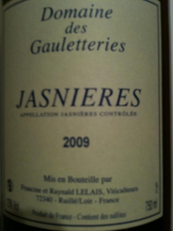 Jasnières