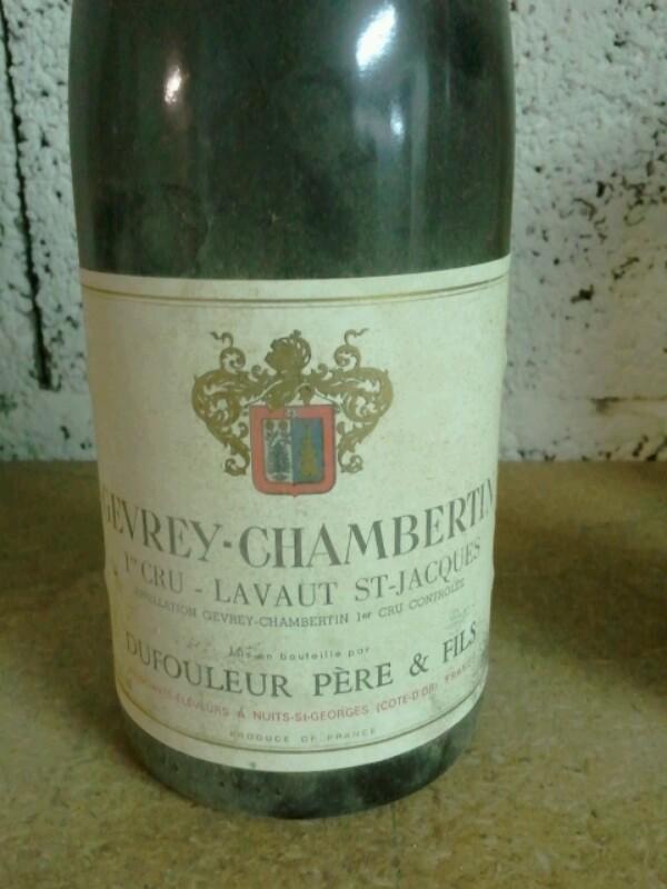 Gevrey-chambertin Premier Cru Lavaut St Jacques