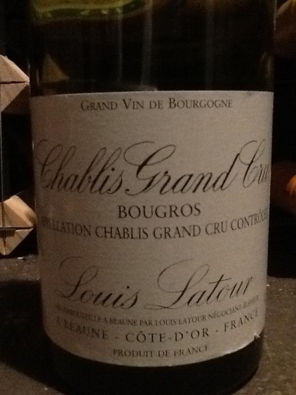 Chablis Grand Cru Bougros
