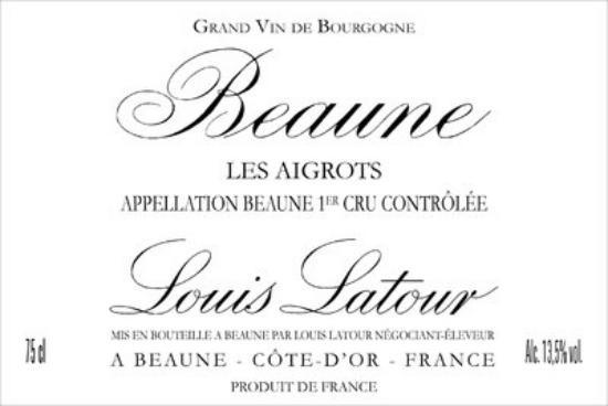 Beaune Premier Cru Les Aigrots
