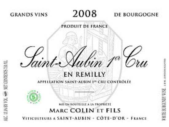 Saint-Aubin Premier Cru  En Remilly