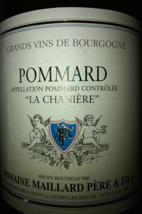 Pommard Premier Cru  La Chanière