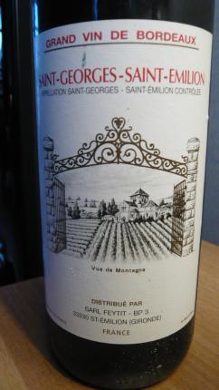 Saint-Georges-Saint-Emilion