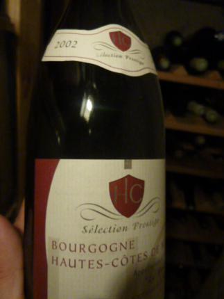 Bourgogne Hautes-Côtes de Beaune