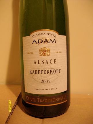 Alsace Grand Cru Kaefferkopf