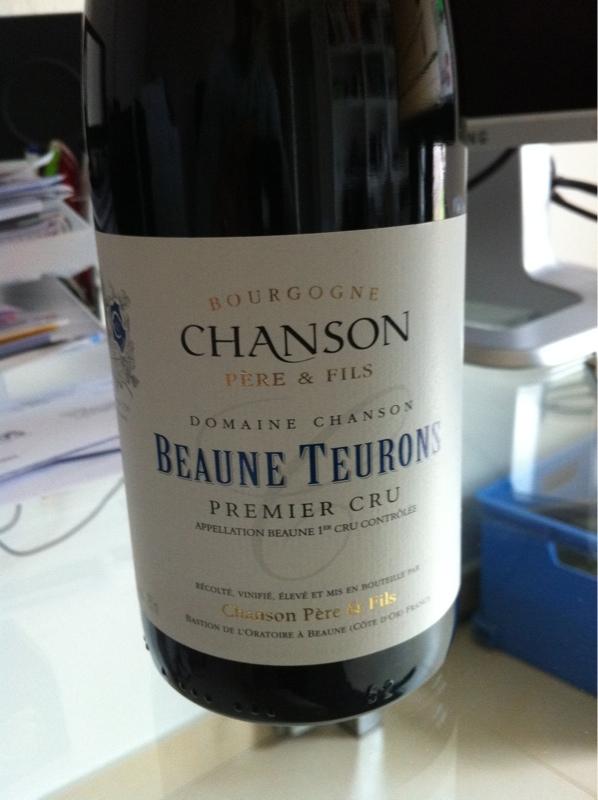 Beaune Premier Cru Les Teurons