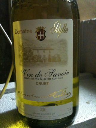Vin-de-Savoie Cruet