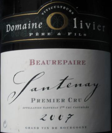 Santenay Premier Cru