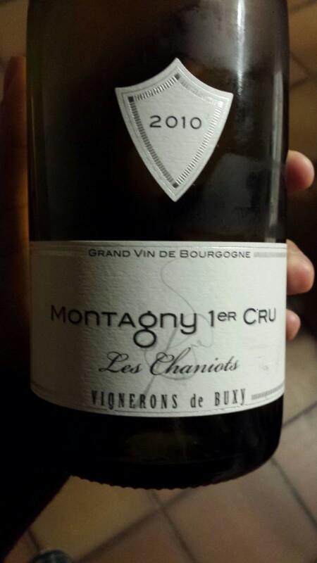 Montagny Premier Cru  Les Chaniots