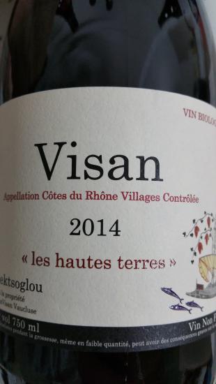 Côtes-du-Rhône-Villages Visan