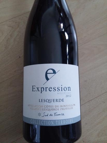 Côtes du Roussillon villages Lesquerde