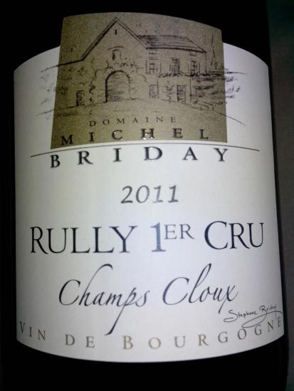 Rully Premier Cru  Champs Cloux