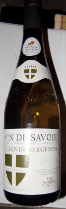 Vin-de-Savoie chignin-Bergeron
