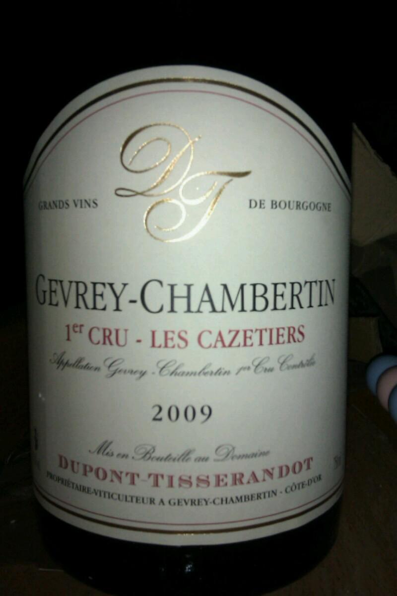 Gevrey-chambertin Premier Cru