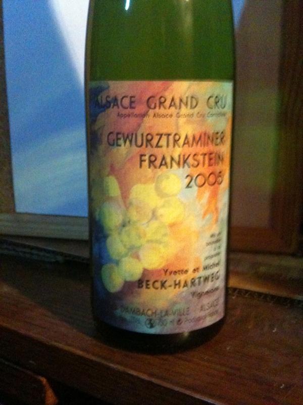 Alsace Grand Cru Frankstein