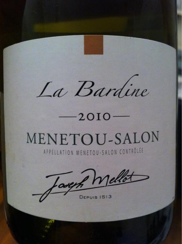 Caves explorer menetou salon domaine mellot joseph blanc - Vin blanc menetou salon ...