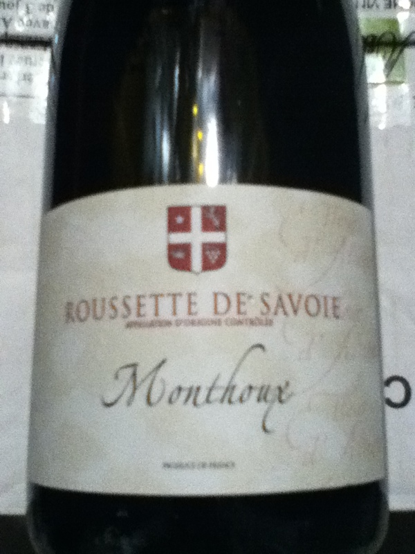 Roussette-de-Savoie Monthoux