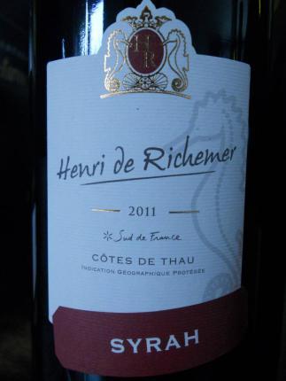 Vin de pays des Côtes de Thau