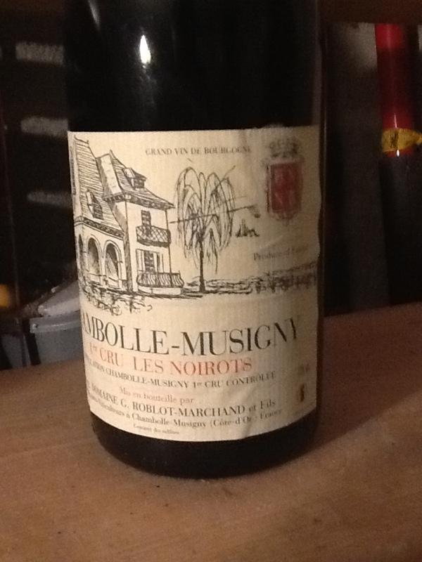 Chambolle-Musigny Premier Cru Les Noirots