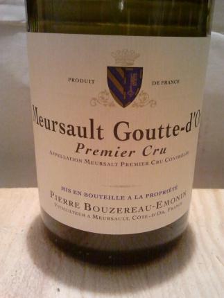 Meursault Premier Cru  Les Gouttes d'Or