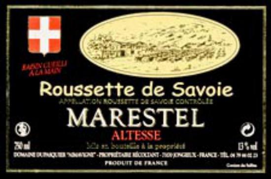 Roussette-de-Savoie Marestel-Altesse